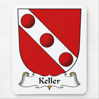 Keller Family Crest Mouse Pad