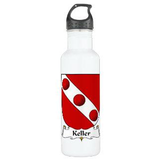Keller Family Crest Water Bottle