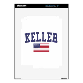 Keller US Flag Decal For The iPad 2