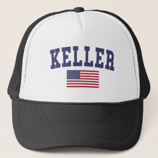 Keller US Flag Trucker Hat