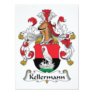 Kellermann Family Crest Card