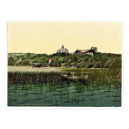 Kellersee, Schleswig-Holstein, Alemania magnífica Tarjeta Postal