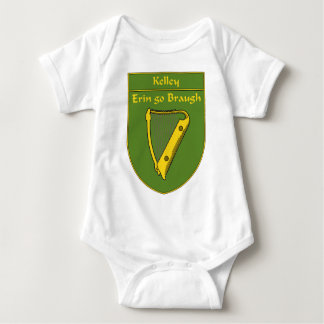 Kelley 1798  Flag Shield Baby Bodysuit