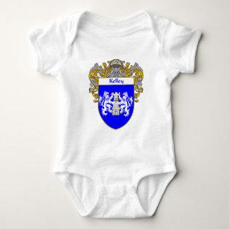 Kelley Coat of Arms (Mantled) Baby Bodysuit