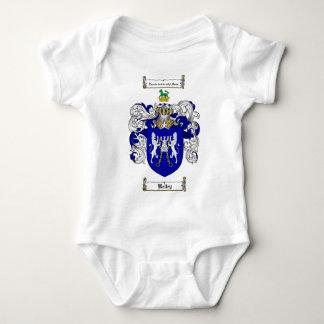KELLEY FAMILY CREST -  KELLEY COAT OF ARMS BABY BODYSUIT
