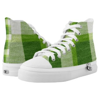 Kelley Tartan Kickers Printed Shoes