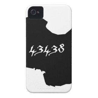 Kelleys Island 43438 Zip Code iPhone 4 Case