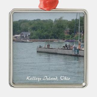 Kelleys Island, OH Boats Photo Christmas Ornament