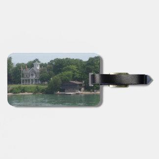 Kelleys Island, Ohio color photo Luggage Tag