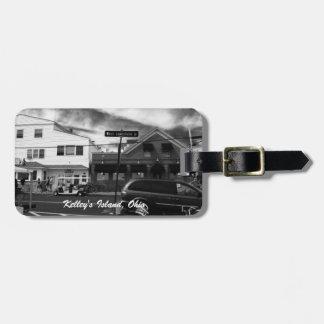 Kelley's Island, Ohio Street Photo Luggage Tag