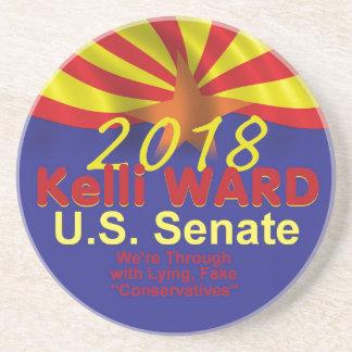 Kelli WARD AZ 2018 Sandstone Coaster