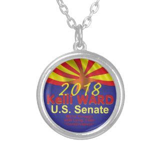 Kelli WARD AZ 2018 Silver Plated Necklace