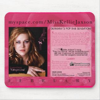 KELLIE JAXSON 2009 MMC - PROMO MOUSEPAD TAPETE DE RATONES