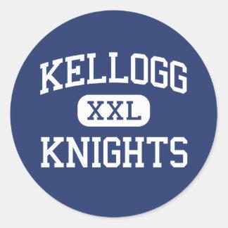Kellogg Knights Middle Seattle Washington Classic Round Sticker