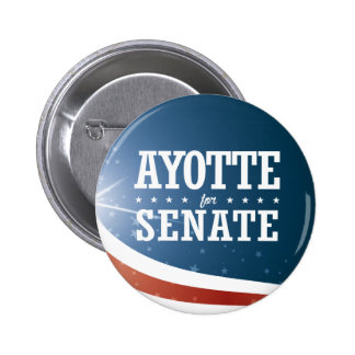 Kelly Ayotte 2016 Pinback Button
