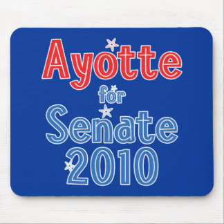 Kelly Ayotte for Senate 2010 Star Design Mouse Pad