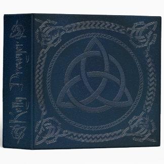 """Kelly-Book de sombras en azul con Triquatra Carpeta 2"""""""