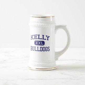 Kelly - Bulldogs - Catholic - Beaumont Texas 18 Oz Beer Stein
