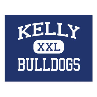 Kelly - Bulldogs - Catholic - Beaumont Texas Postcard