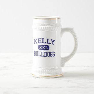 Kelly - Bulldogs - High School - Beaumont Texas 18 Oz Beer Stein