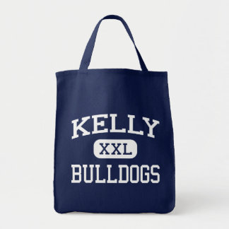 Kelly - Bulldogs - High School - Beaumont Texas Grocery Tote Bag