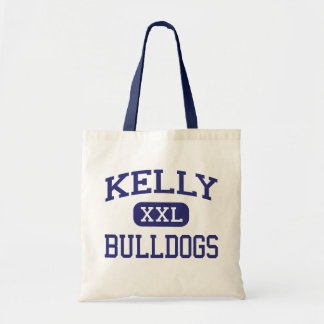 Kelly - Bulldogs - High School - Beaumont Texas Canvas Bags