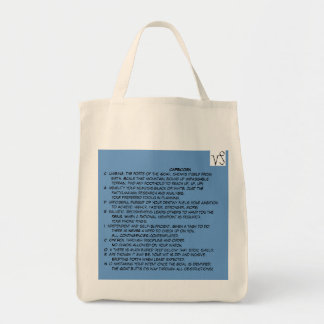 Kelly Capricorn grocery tote Grocery Tote Bag