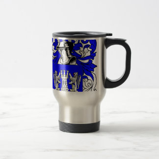 Kelly Coat of Arms 15 Oz Stainless Steel Travel Mug