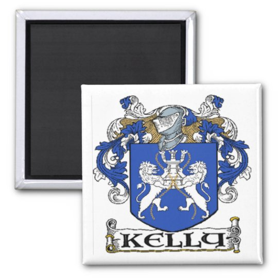 Kelly Coat of Arms Magnet