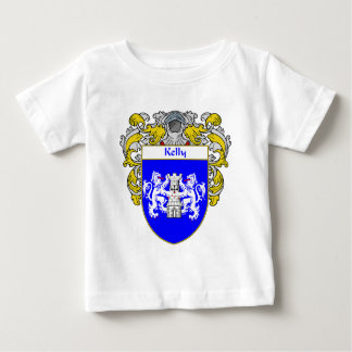 Kelly Coat of Arms (Mantled) Baby T-Shirt