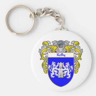 Kelly Coat of Arms (Mantled) Key Chain