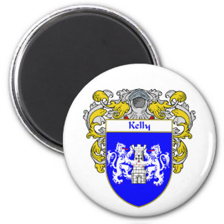 Kelly Coat of Arms (Mantled) Magnet
