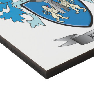 Kelly Coat of Arms Panel Wall Art