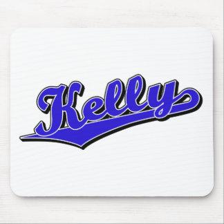 Kelly en azul alfombrillas de ratón