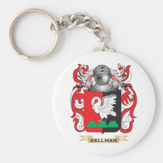 Kelly-(England) Coat of Arms (Family Crest) Keychain