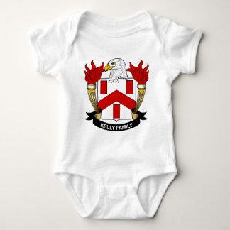 Kelly Family Crest Baby Bodysuit