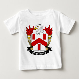 Kelly Family Crest Baby T-Shirt