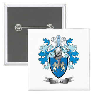 Kelly Family Crest Button