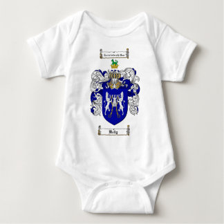 KELLY FAMILY CREST -  KELLY COAT OF ARMS BABY BODYSUIT