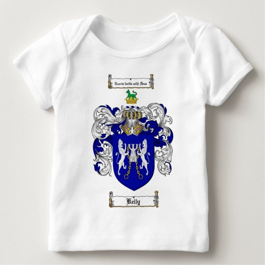 KELLY FAMILY CREST -  KELLY COAT OF ARMS BABY T-Shirt