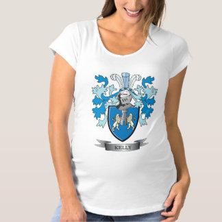 Kelly Family Crest Maternity T-Shirt