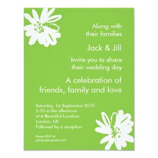 Kelly Green 4.25x5.25 4.25x5.5 Paper Invitation Card