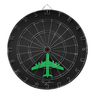 Kelly Green Airplane Dartboards