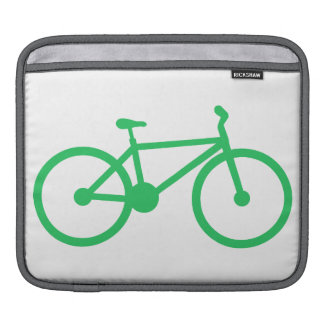 Kelly Green Bicycle Sleeve For iPads