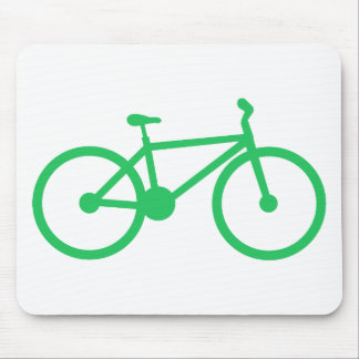 Kelly Green Bicycle Mousepad