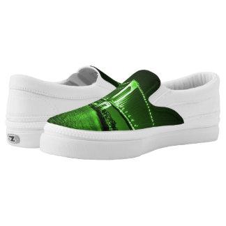 Kelly Green Bridge Z slipons Slip-On Sneakers