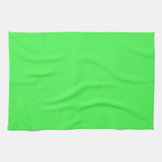 Kelly Green Bright Spring Neon 2015 Color Trend Kitchen Towels
