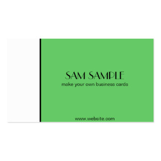 Kelly Green Business Cards