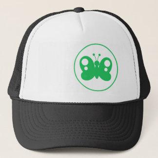 Kelly Green Butterfly Trucker Hat