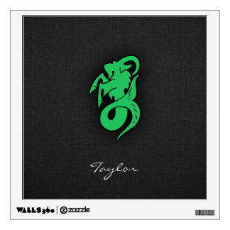 Kelly Green Capricorn Wall Decal